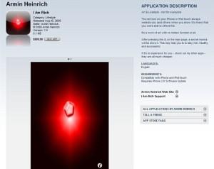 1000$ nothing app